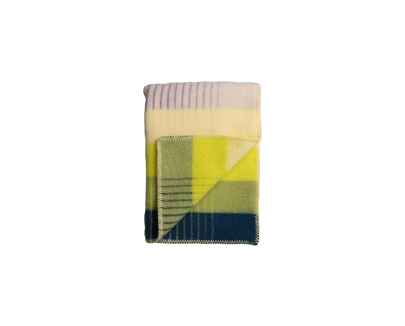 Roros Tweed - Asmund Gradient Decke - violet-yellow - 1