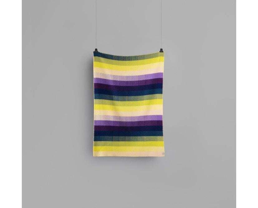 Roros Tweed - Asmund Gradient Decke - violet-yellow - 2