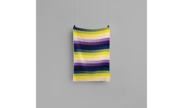 Roros Tweed - Asmund Gradient Decke - violet-yellow - 3