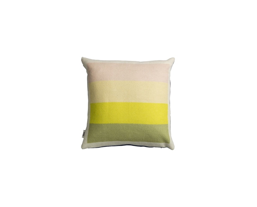 Roros Tweed - Asmund Bold Kissen - violet-yellow - 1