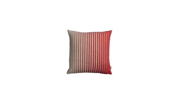 Roros Tweed - Asmund Gradient Kissen - red-turqouise - 2