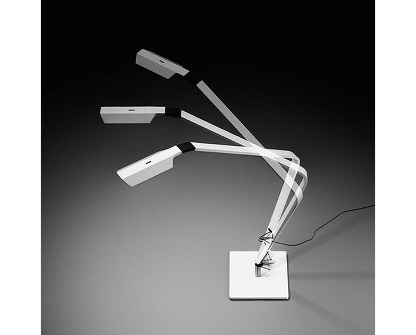 Vibia - Flex Tischleuchte - graphit-grau glänzend  - 3