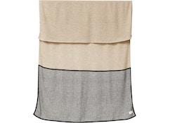 Aymara Decke - rib light brown