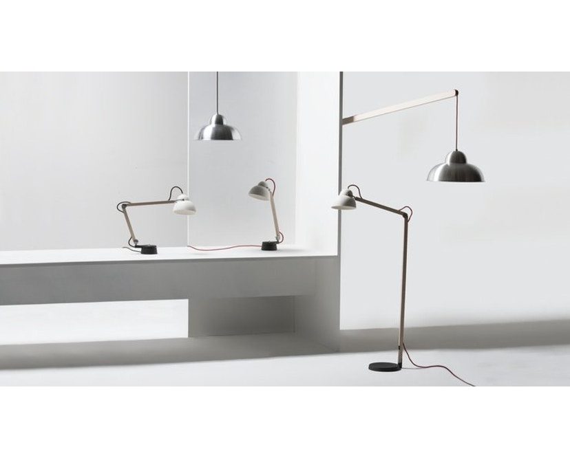 Wästberg - Studioilse w084 tafellamp - tweearmig - rood - 4