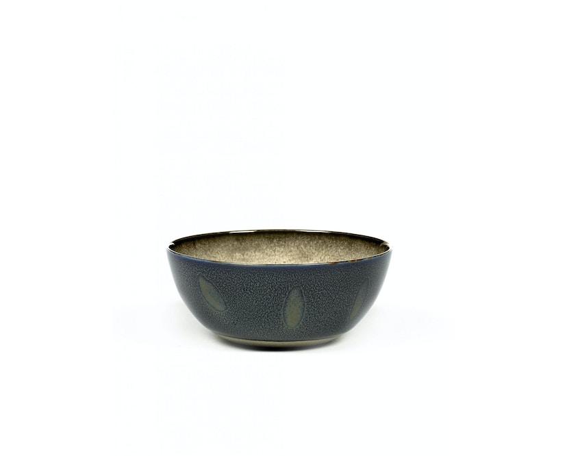 Serax - Terres De Rêve Schale - misty grey/ dark blue - 1