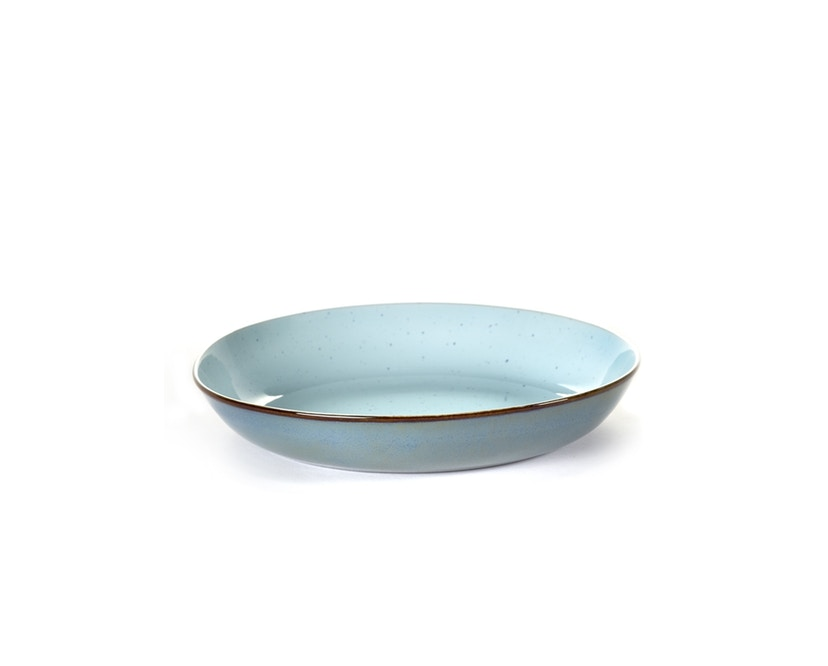Serax - Terres De Rêve Pasta Bord - lichtblauw/gerookt blauw - 1