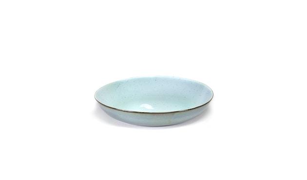 Serax - Terres De Rêve Pasta Bord - lichtblauw/gerookt blauw - 2