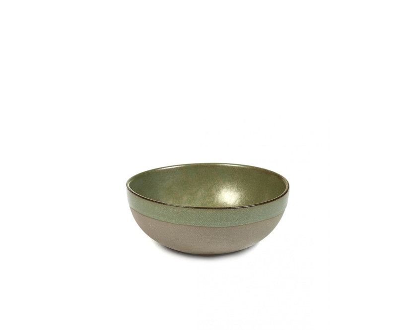 Serax - Surface Schale - grey/ camo green - 1