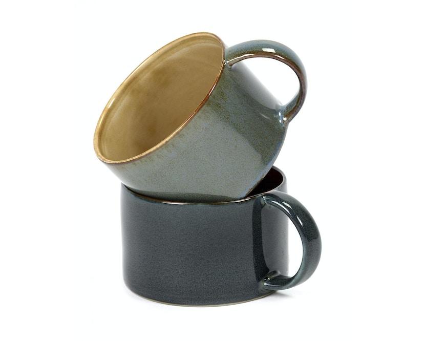 Serax - Terres De Rêve Kaffeetasse - misty grey/ smokey blue - 2