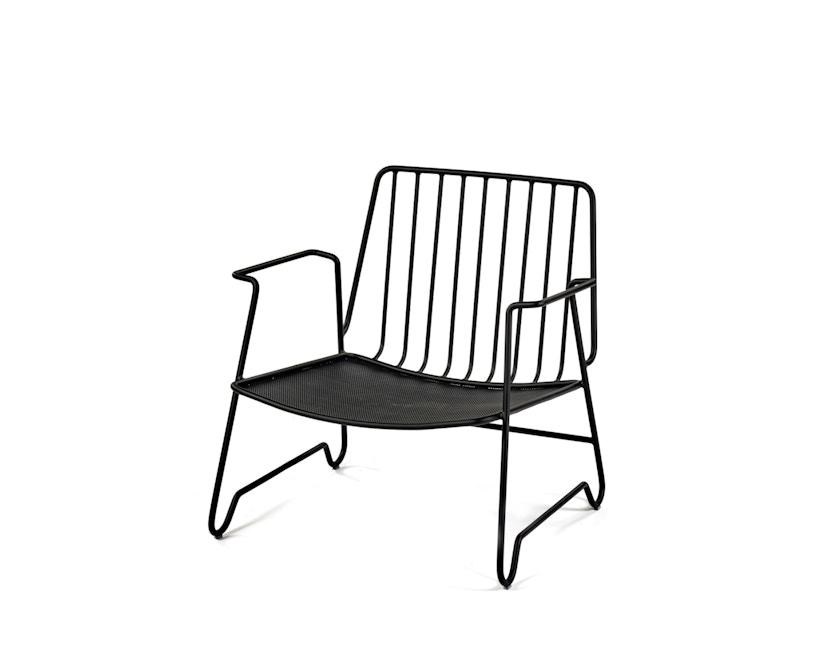 Serax - Lounge Armlehnstuhl - schwarz - 1
