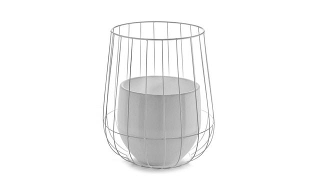 Serax - Pot in Cage Blumentopf - weiß - 1