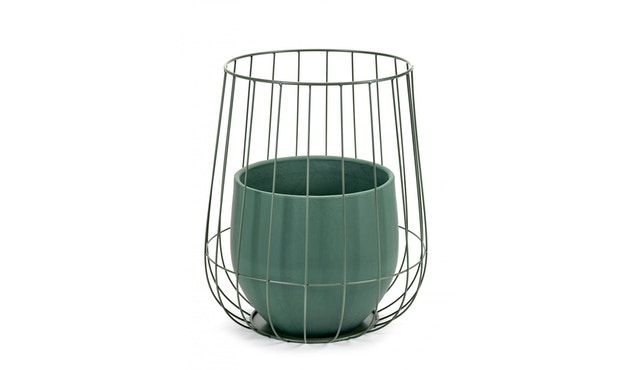 Serax - Pot in Cage Blumentopf - army - 1