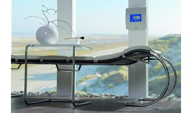 Thonet - Table d'appoint B97 - petit 34,5 x 42,5 cm - Décapé noir - 6