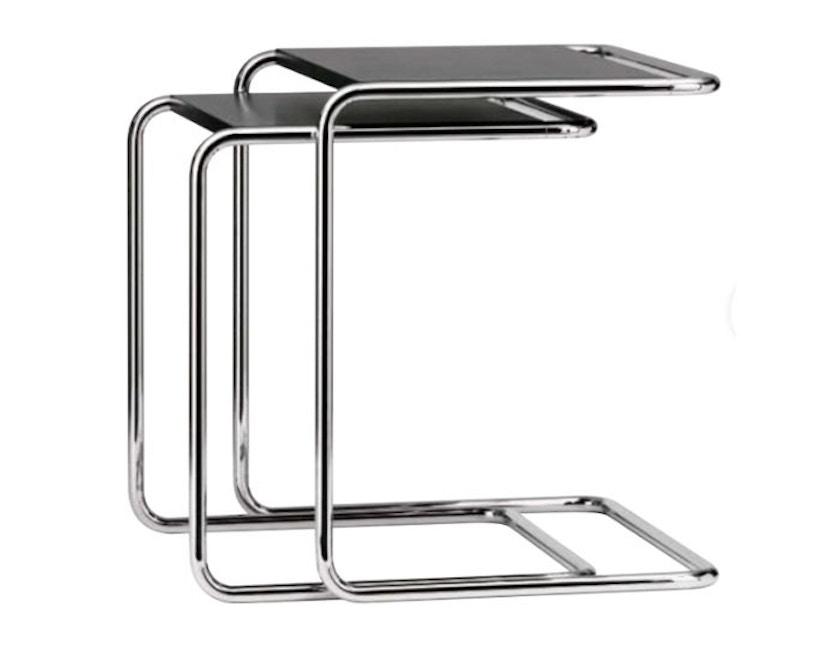 Thonet - Table d'appoint B97 - petit 34,5 x 42,5 cm - Décapé noir - 1