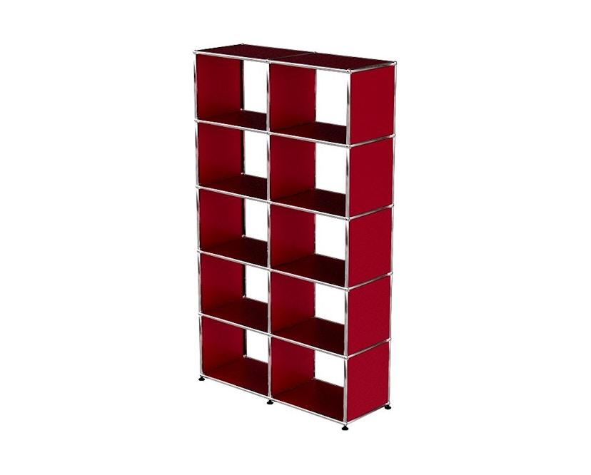 USM Haller - Bücherregal - rot - 1