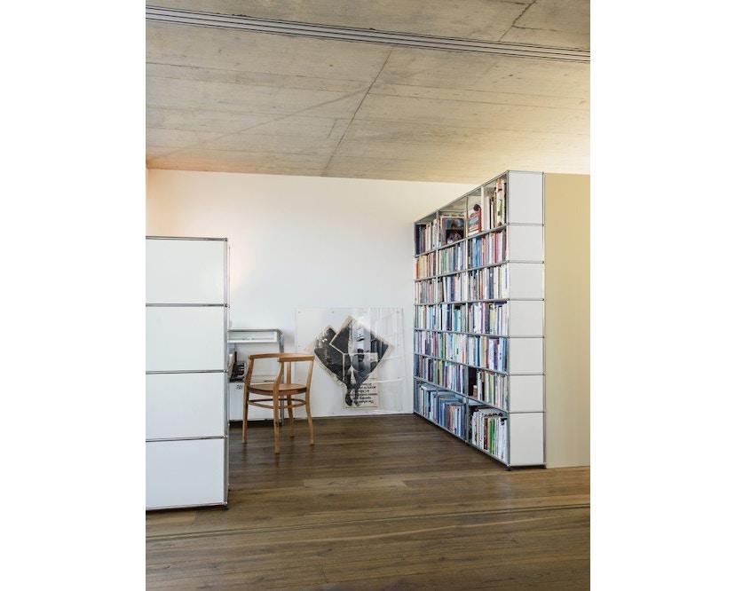 USM Haller - Boekenrek - 30 grafietzwart - 2