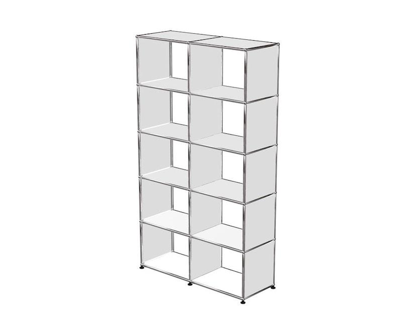USM Haller - Bücherregal - weiß - 0