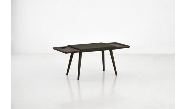 Woud - Baenk Bench - Oil treated smoked oak - 2