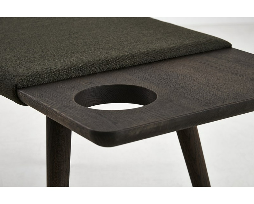 Woud - Baenk Bench - Oil treated smoked oak - 4
