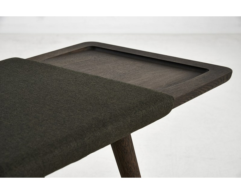 Woud - Baenk Bench - Oil treated smoked oak - 5