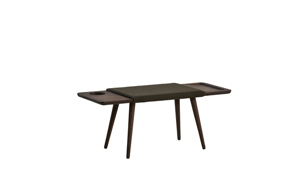 Woud - Baenk Bench - Oil treated smoked oak - 1