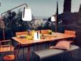 Fermob - Balad outdoorlamp - S - 46 laguneblauw - 4