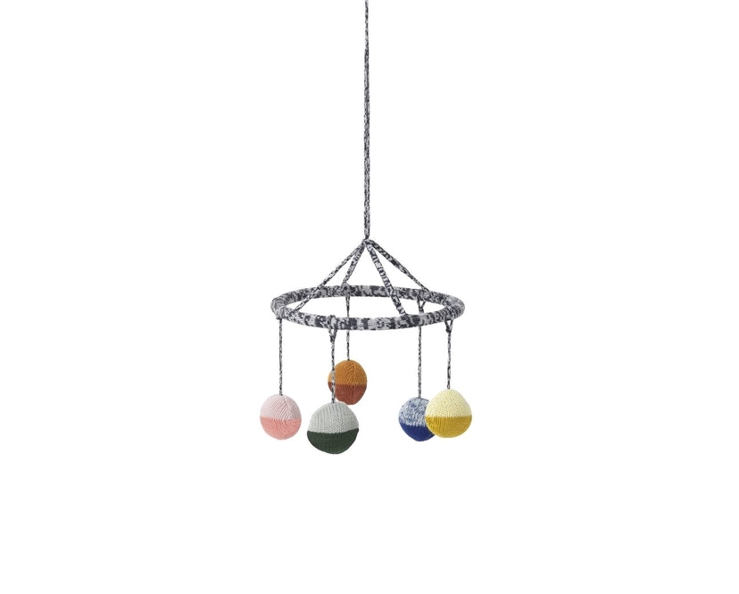 ferm LIVING - Ball knitted Mobile - 1