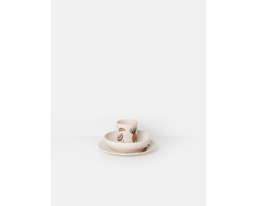 ferm LIVING - Bambus servies-set - Fruiticana - 1