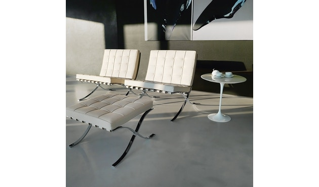 Knoll International - Mies van der Rohe Barcelona Sessel - Black - Relax version - 2