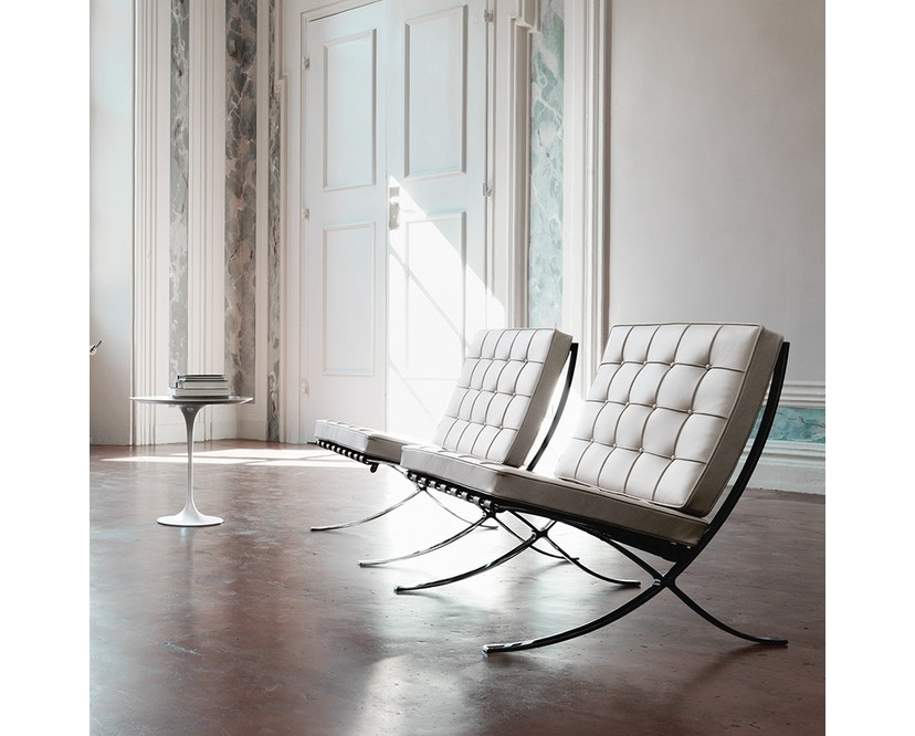 Knoll International - Mies van der Rohe Barcelona Sessel - Black - Relax version - 3