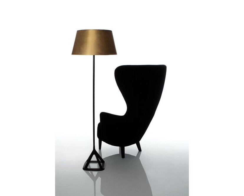 Tom Dixon - Base vloerlamp - messing geborsteld - 2