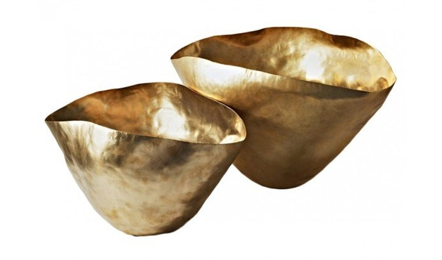 Tom Dixon - Bash Vessel Schale - gold - klein - 2