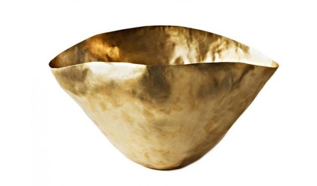 Tom Dixon - Bash Vessel Schale - gold - klein - 1