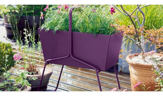 Fermob - BASKET Blumenkasten - hoch - 02 Zederngrün matt - 2
