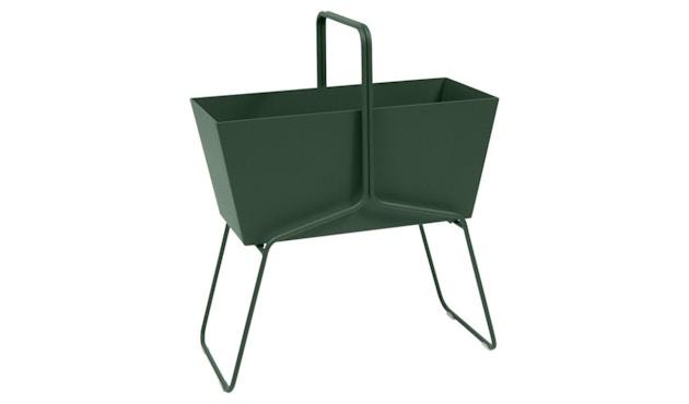 Fermob - BASKET Blumenkasten - hoch - 02 Zederngrün matt - 1