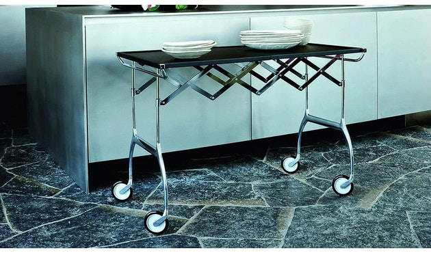 Kartell - Battista trolley - zwart - 12