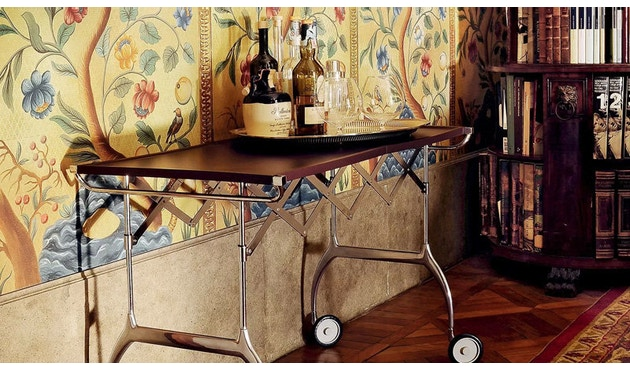 Kartell - Battista trolley - zwart - 11