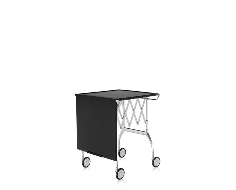 Kartell - Battista trolley - zwart - 5