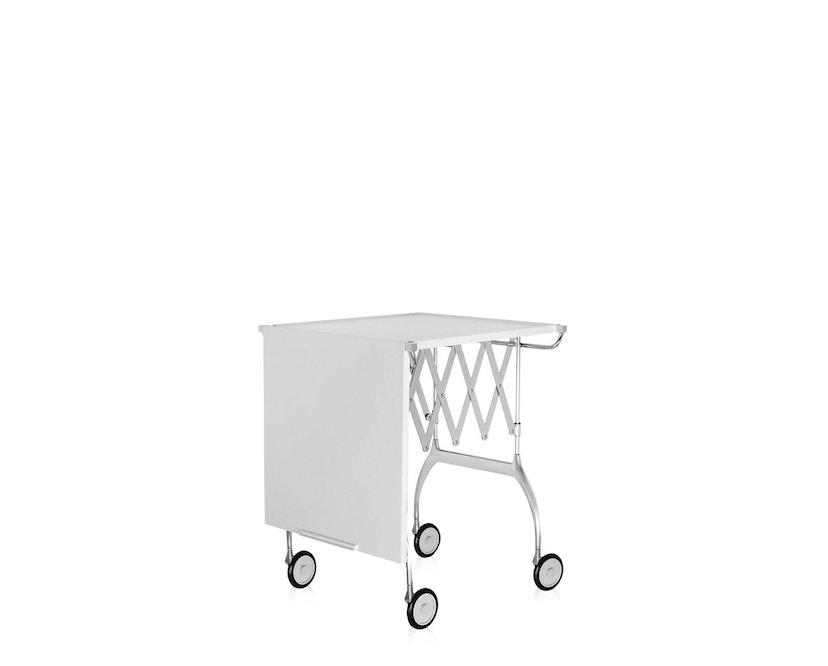 Kartell - Battista Servierwagen - matt weiß - 5