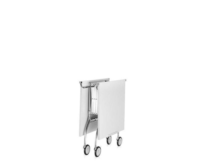 Kartell - Battista Servierwagen - matt weiß - 7