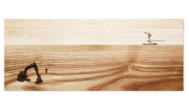 Pension für Produkte - Serveerplank Schöne Aussicht - bouwplaats - Essenhout - 1