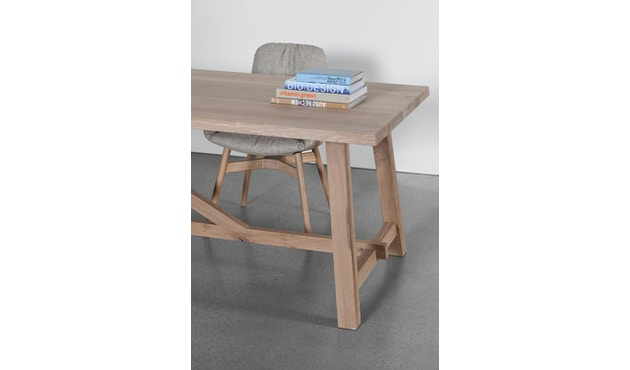 Janua - BC 02 tafel - Eiken natuur geolied - 180 cm - 90 cm - 4