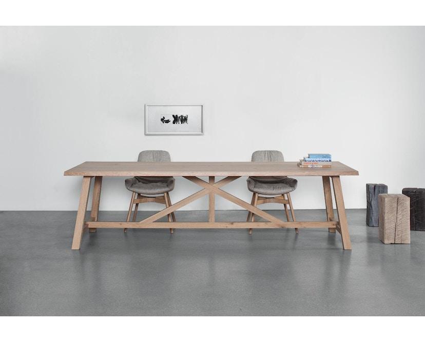 Janua - BC 02 tafel - 180 cm - 90 cm - Eiken wit gepigmenteerd - 3