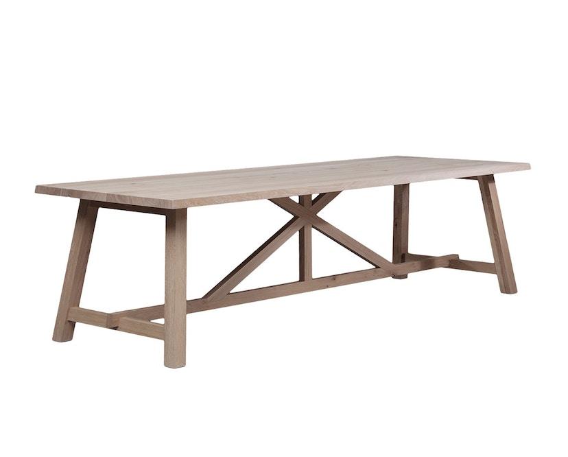 Janua - BC 02 tafel - 180 cm - 90 cm - Eiken wit gepigmenteerd - 2