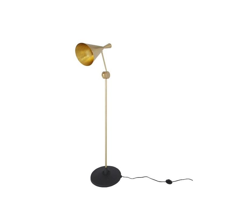 Tom Dixon - Beat Floor vloerlamp - messing geborsteld - 4