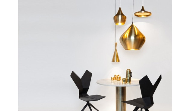 Tom Dixon - Beat Hängeleuchte Fat - messing gebürstet - 5