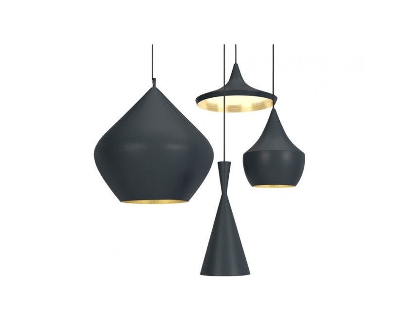 Tom Dixon - Beat hanglamp Fat - zwart - 2
