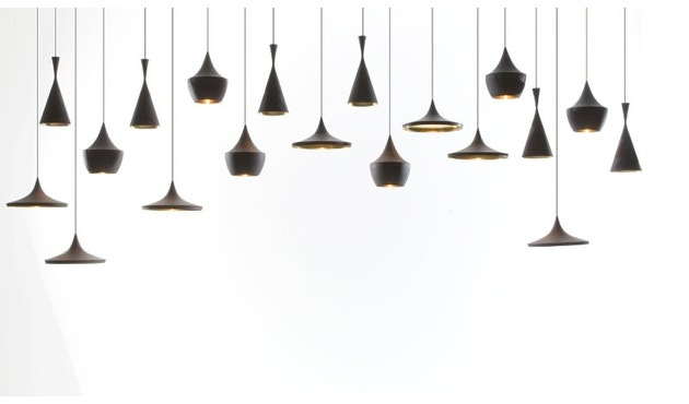 Tom Dixon - Beat hanglamp Fat - zwart - 6