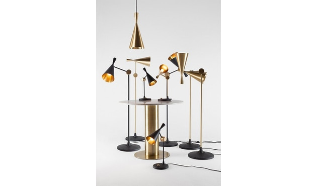 Tom Dixon - Beat Table tafellamp - messing geborsteld - 9