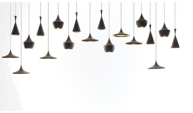Tom Dixon - Beat Tall hanglamp - zwart - 6